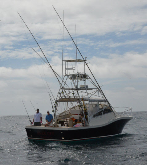 Amelia Island Charter Fishing Boat, the Pipe Dream III
