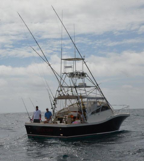 Amelia Island Charter Fishing Boat, the Pipe Dream III