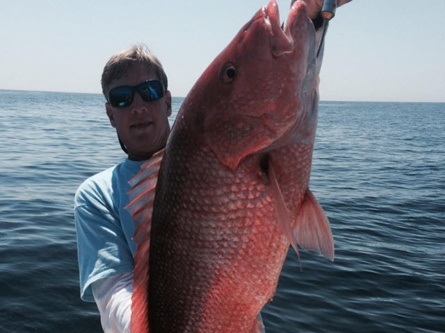 Trophy Red Snapper at Amelia Island