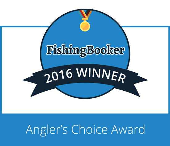 2016 Angler's Choice Award - Pipe Dream Charters