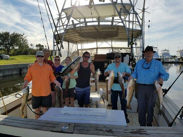 Redfish caught offshore Fernandina Beach, FL